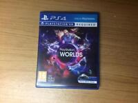 PlayStation VR Worlds for the PS4, PSVR game
