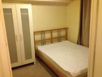 Double room for rent, free parking space in front of the huse