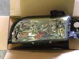 Volvo S80 headlamps