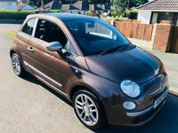 *2010* FIAT 500 LIMITED EDITION, DESIGNED BY THE BRAND ''DIESEL'' 1.2 LTR DIESEL £30 ROAD TAX