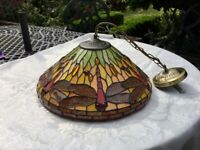 Tiffany Style Lampshade (Dragonfly Design)