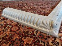 Beautiful Victorian/Edwardian Fireplace Fender Cast Iron ONO
