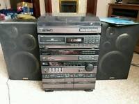 Aiwa Cx-77 Hi-Fi System For Sale in Mostly Working Order, Can Deliver