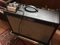 Fender Hot Rod Deluxe & Flight Case w foot switch