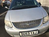 Chrysler grand voyager, leather, electric doors etc