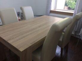 Next oak dining table