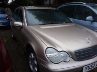 Mercedes c200 compresser 2002 02 plate mot end october drives great