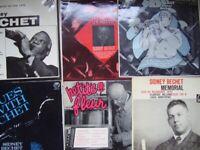 6 Sidney Bechet LPs