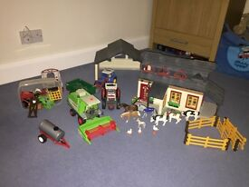 Playmobil Farm with accessories