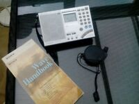 Sony Worldband Radio. ICF SW 7600 GR