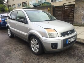 FORD FUSION PLUS 1.6 TDCI DIESEL 2007 FULL SERVICE HISTORY ELECTRIC FOLDING MIRRORS £30 YEARLY TAX