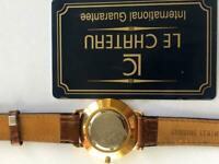 Watch 18ct gold plated