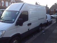 High roof Iveco daily van