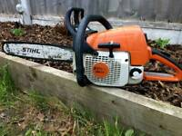Stihl MS 290 petrol chainsaw in fantastic condition.