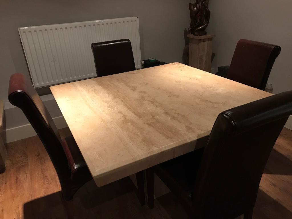 Dansk dining table and furniture