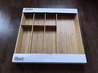 Cutlery Sorter (Wood Bamboo) from IKEA
