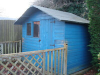 Wooden Garden Shed 8 x 6