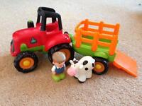 Happy Land Tractor by Early Learning Centre