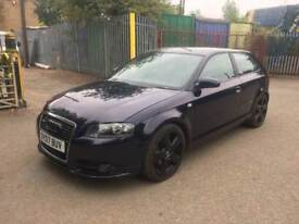Audi A3 2.0 TDI S Line S Tronic 3dr HPI CLEAR