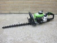"Brand New 26cc Petrol Hedge trimmer cutter clipper with 20"" double blade"