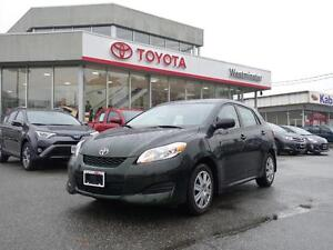 2013 Toyota Matrix Convenience Package