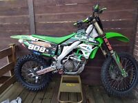 KXF 250 cc motocross bike