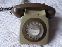 Old style dial phone