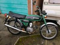1979 SUZUKI A100 FRESH MOT. (NOT FS1-E OR AP50 OR RXS100)