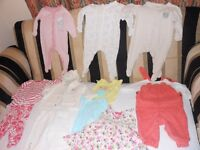 Bundle of 3-6 months baby girl clothes