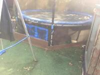 Trampoline and swing