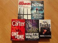 Books - 5 Thrillers.