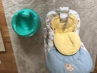Baby Chair & Bumbo Seat