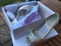 Ivory Shoes - new in box