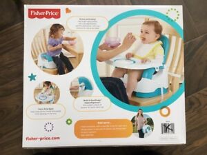 Brand new Fisher Price Portable Booster seat