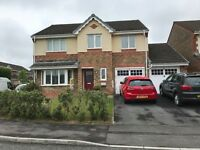 Stunning, Updated modern Detached 5 bed home in Pontarddulais, high spec, park views, double garage