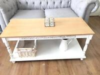 FRENCH COUNTRY STYLE COFFEE TABLE FREE DELIVERY LDN🇬🇧🇬🇧