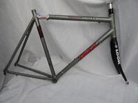 Trek road bike frame and forks