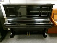 Beautiful Gloss Black 'C.Bechstein - Model 9' Upright Piano - CAN DELIVER