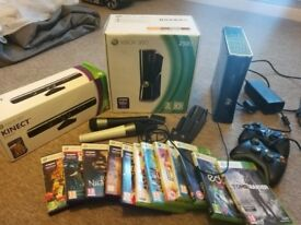 Xbox 360 with Kinect Bundle all boxed