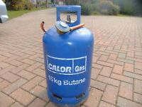 15kg Full Calor Gas Bottle plus Regulator - No Exchange Required