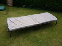 Folding Guest bed with Mattress