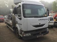 Renault midlum Truck 150 bhp 2001 breaking