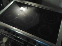 Stainless steel range cooker untested.