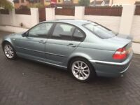 BMW 316I SE 1.8 PETROL ** MOT 16/10/18, ONLY 82K MILES, S/HISTORY** ALLOY, AIR CON, CRUISE £1295