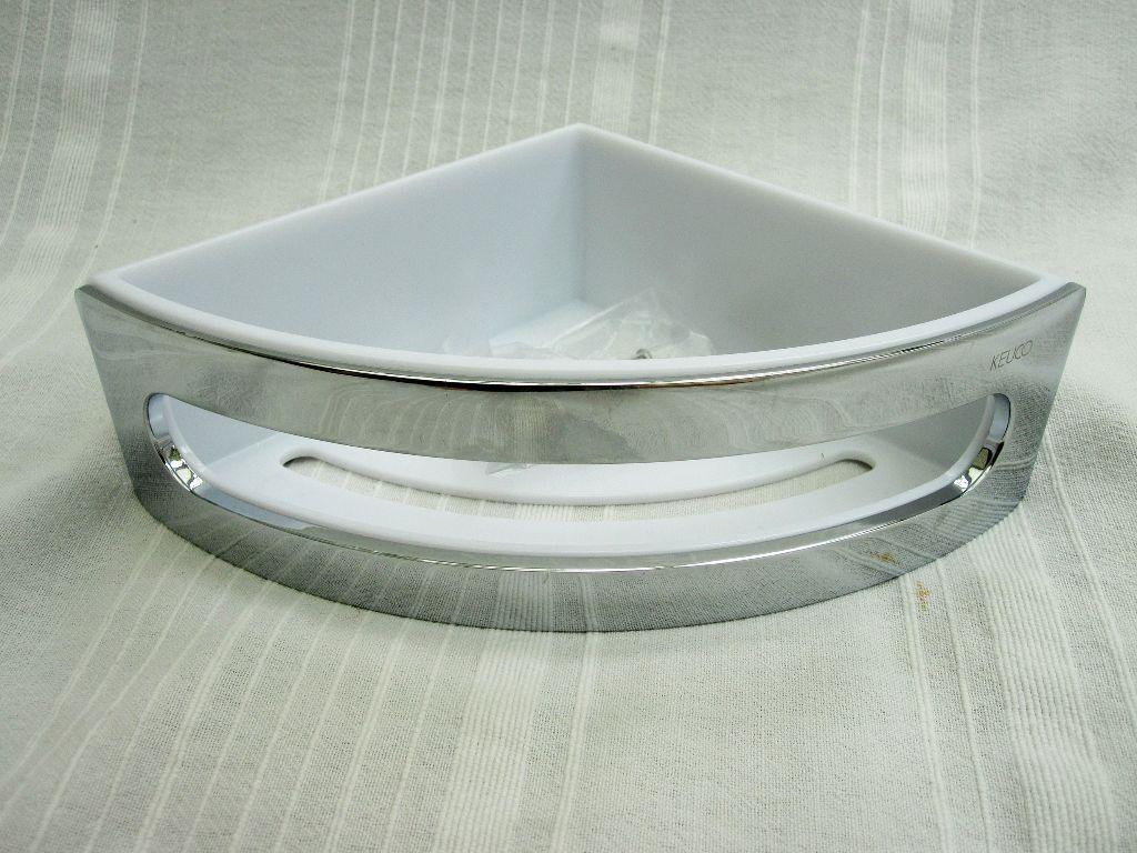 Keuco \'Elegance\' corner soap basket for shower enclosure   in ...