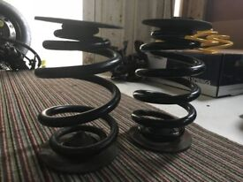 bmw e46 rear springs and rubbers