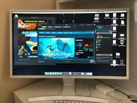 Samsung 27 inch Curved Monitor 1080p LCD LED - LS27E591C S27E591C