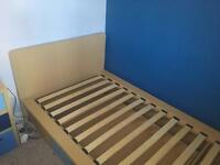 Wooden single bed. Excellent condition.