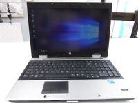 "HP Elitebook 8540P Laptop Notebook 15.6"" Screen 500GB 2GB Windows 10 ( 1 of 2 )"
