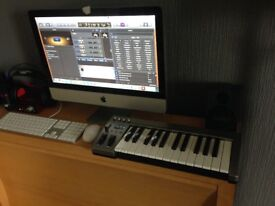 FULL RECORDING STUDIO (CHEAPEST ON NET) WITH MID 2011 IMAC i5 UPGRADED 12G COMPLETE WITH Logic Pro